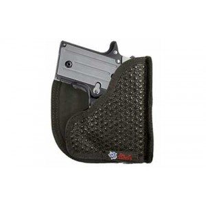Desantis Gunhide M44 Super Fly Ambidextrous-Hand Pocket  Holster for Kahr Arms PM9, PM40, MK9, MK40 in Black - M44BJU2Z0