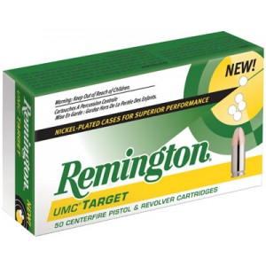 Remington .40 S&W Metal Case, 180 Grain (50 Rounds) - LN40SW3