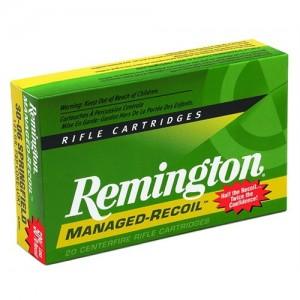 Remington Managed Recoil 7mm-08 Remington Core-Lokt Pointed Soft Point, 140 Grain (20 Rounds) - RL7M081