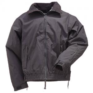5.11 Tactical Big Horn Men's Full Zip Jacket in Black - Large