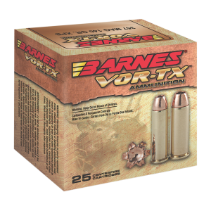 Barnes Bullets VOR-TX .45 Colt XPB, 200 Grain (20 Rounds) - 21547