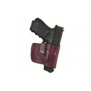 Don Hume Jit Slide Holster, Fits Keltec Pf9, Right Hand, Brown Leather 989035r - 989035R