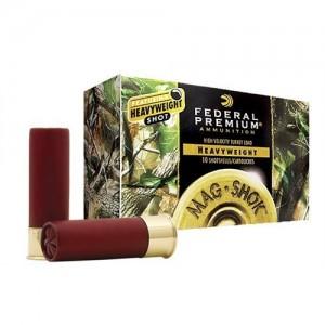 "Federal Cartridge Premium Mag-Shok Heavyweight Turkey .10 Gauge (3.5"") 6 Shot Tungsten (5-Rounds) - PHT101F6"