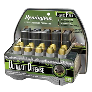 Remington Ultimate .410/45 Long Colt Brass Jacket Hollow Point, 230 Grain (20 Rounds) - HD45C410A