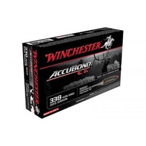 Winchester Supreme .338 Lapua Magnum Ballistic Silvertip, 300 Grain (20 Rounds) - S338LCT
