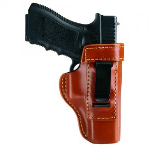 INSIDE THE PANT HOLSTER  Inside Trouser Holster Chestnut Brown Finish Fits Glock 26, 27, 33 and Taurus PT111 - 890-G27