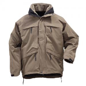 5.11 Tactical Aggressor Parka Men's Full Zip Coat in Tundra - X-Large