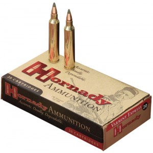 Hornady Varmint Express .223 Remington/5.56 NATO V-Max, 40 Grain (20 Rounds) - 8325