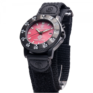 Fire Fighter Watch - Back Glow, Nylon Strap