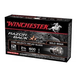 "Winchester Razorback XT .12 Gauge (2.75"") Slug (10-Rounds) - S12RBSS"