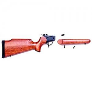 Thompson Center Blue Rifle Frame w/Walnut Stock 8720