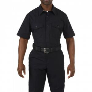 5.11 Tactical PDU Class B Men's Uniform Shirt in Midnight Navy - Large