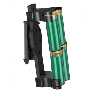 Model 086 Shotgun Shell Holder Mounting System: ELS 34 (Fork Only) Holds: 4 Color: Black