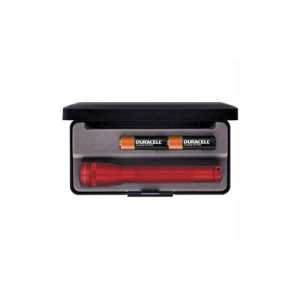 "MagLite Mini Mag Flashlight in Red (5.75"") - M2A03L"