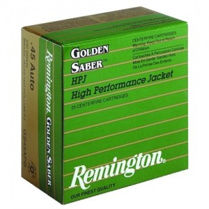 Remington Premier .45 ACP Boat Tail Hollow Point, 185 Grain (25 Rounds) - GS45APC