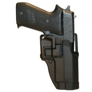 "Blackhawk Sportster Right-Hand Multi Holster for Sig Sauer P220 in Black (4.4"") - 415606BK-R"
