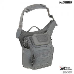 Maxpedition - WOLFSPUR™ Crossbody Shoulder Bag Color: Gray
