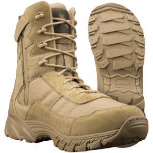 ORIGINAL SWAT - ALTAMA VENGEANCE SR 8  SIDE-ZIP Color: Tan Size: 7.5 Width: Regular