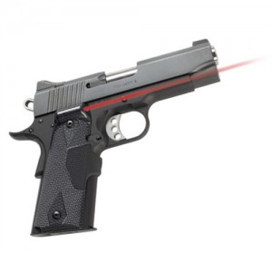 Crimson Trace Pro Custom Carbon Fiber Lasergrip For 1911 Govt./Commander LG401P4