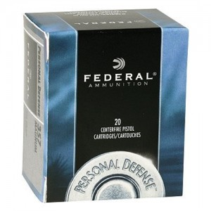 Federal Cartridge .45 ACP Jacketed Hollow Point, 230 Grain (20 Rounds) - C45D