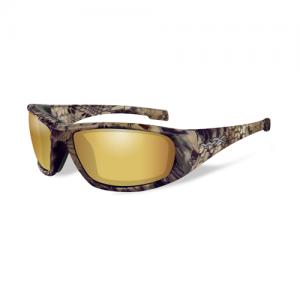 Wiley X - Boss Lens Color / Frame Color: Polarized Venice Gold Mirror / Kryptek Highlander
