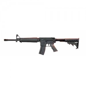 "Armalite M-15 AR-15 A4 .223 Remington/5.56 NATO 30-Round 16"" Semi-Automatic Rifle in Black - 15A4CBA2K"