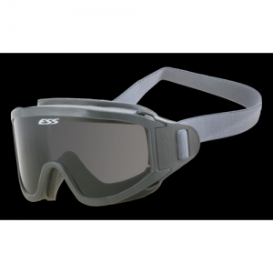 Striketeam SJ - Fully-sealed goggle for heavy smoke environments with one-piece wrap-around strap, Clear lens
