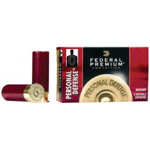 "Federal Cartridge Premium Personal Defense .12 Gauge (2.75"") 00 Buck Shot Lead (5-Rounds) - PD13200"