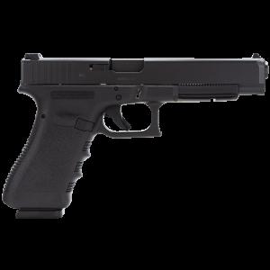 """Glock 34 9mm 10+1 5.32"""" Pistol in Polymer (Gen 4) - PG3430101"""