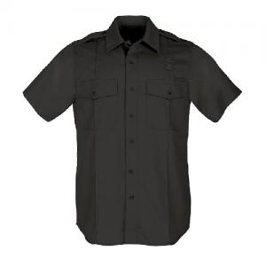 5.11 Tactical PDU Class A Men's Uniform Shirt in Black - Small