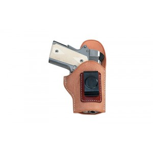 El Paso Ez Carry Inside The Pant Holster, Fits S&w Bodyguard .380, Right Hand, Natural Leather With Russet Patch And Black Clip Ebgarr - EBGARR