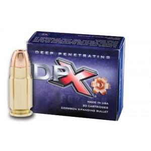 Corbon Ammunition Deep Penetrating X bullet .357 Remington Magnum XPB, 125 Grain (20 Rounds) - DPX357125