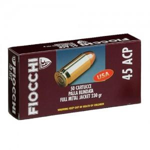 Fiocchi Ammunition .38 Super Metal Case, 129 Grain (50 Rounds) - 38SA