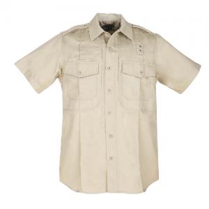 5.11 Tactical PDU Class B Men's Uniform Shirt in Silver Tan - Large