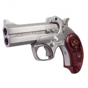 "Bond Arms Snakeslayer .410/.45 Long Colt 2-Shot 4.25"" Derringer in Matte Stainless (Bass IV) - BASS4"