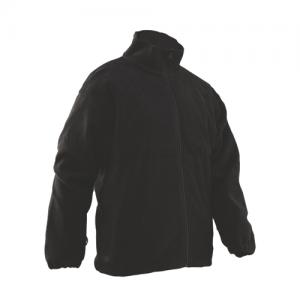 Tru Spec Polar Fleece Men's Full Zip Jacket in Black - Medium