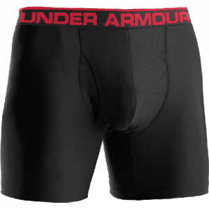 "Under Armour BoxerJock 9"" Men's Underwear in Black - 2X-Large"