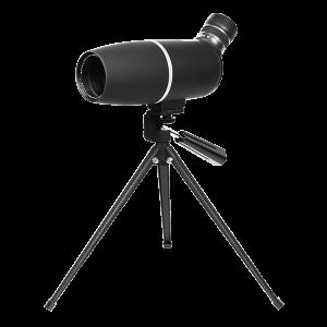 """Aim Sports Inc  12.5"""" 22-65x60mm Spotting Scope in Black - SMB226550"""