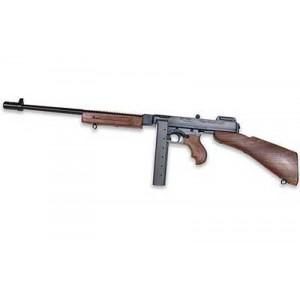 """Auto Ordinance 1927A1 Deluxe .45 ACP 30-Round 16.5"""" Semi-Automatic Rifle in Blued - T1B"""