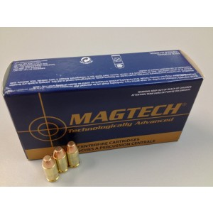Magtech Ammunition Sport .40 S&W Full Metal Jacket, 180 Grain (50 Rounds) - 40B