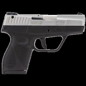 "Taurus 709 Slim 9mm 7+1 3"" Pistol in Stainless - 1709039"