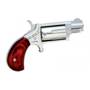 """North American Arms Mini-Revolver .22 Winchester Magnum 5-Shot 1.125"""" Revolver in Stainless - NAA-22MS-GRB"""