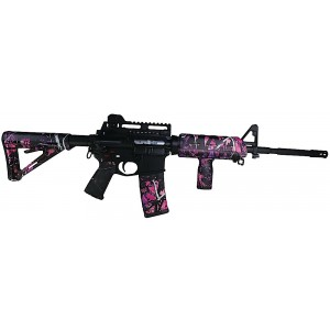 Matrix Diversified Ind Magpul Mil-Spec AR-15 Furniture Kit Pink Muddy Girl Camo MAGMIL03MG