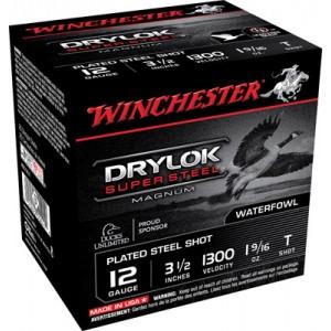 "Winchester Drylok Waterfowl .12 Gauge (3.5"") T Shot Steel (250-Rounds) - XSC12LT"