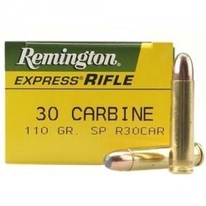 Remington Standard .30 Carbine Core-Lokt Soft Point, 110 Grain (50 Rounds) - R30CAR