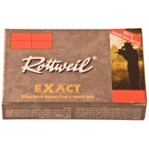 "Ruag Ammotec Usa Inc Rottweil Exact .20 Gauge (2.75"") Slug Lead (5-Rounds) - 247140005"