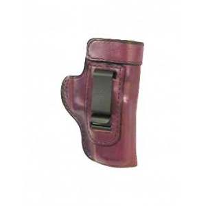 Don Hume H715m Clip-on Holster, Inside The Pant, Fits Taurus 85, Sw J Frame, Left Hand, Brown Leather J168050l - J168050L