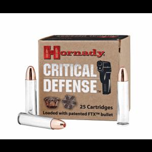 Hornady Critical Defense Centerfire Rifle FTX .30 Carbine Flex Tip Expanding, 110 Grain (25 Rounds) - 81030