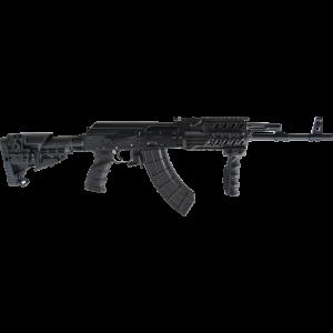 "Russian Weapons Co Saiga Modern 5.45X39 30-Round 16.3"" Semi-Automatic Rifle in Black - IZ240Z"