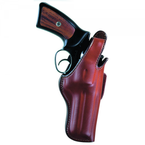 "Thumbsnap Belt Slide Gun FIt: 10 / COLT / King Cobra, Python 6"" 10 / LLAMA / Comanche, Martial 6"" 10 / RUGER / GP100 6"" 10 / S&W / 14, 19, 586, 686 and similar K/L frame models 6"" 10 / TAURUS / 66, 80, 669 6  10 / WESSON / 15, 715 6"". Hand: Righ"